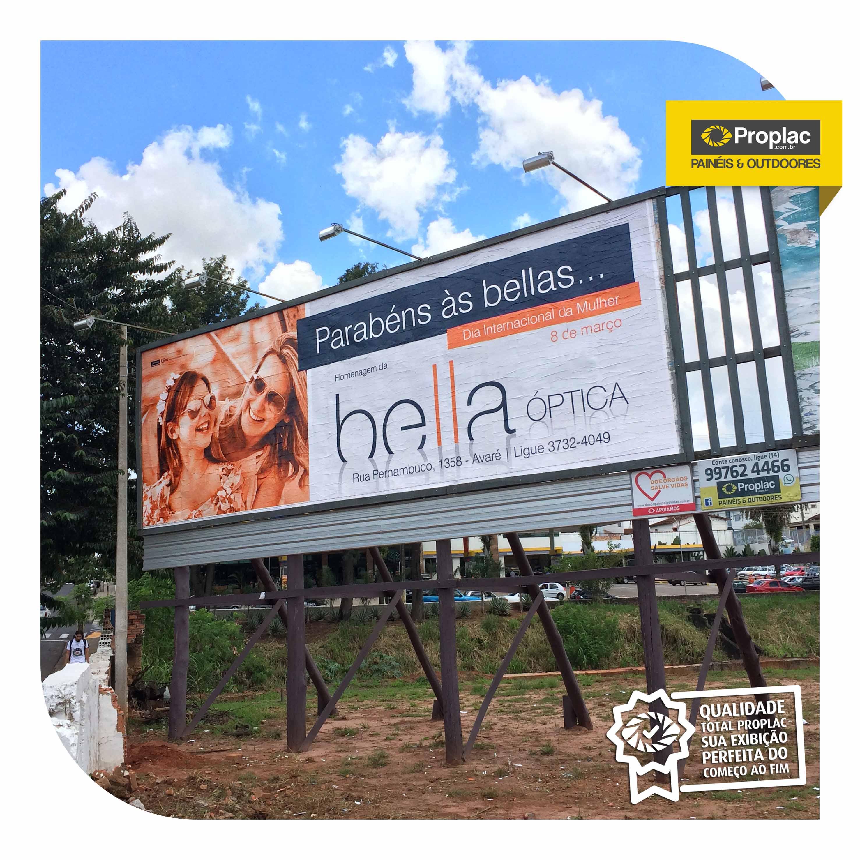 631d49fad41a6 BELLA ÓPTICA Rua Pernambuco, 1358 – Centro Avaré – SP – Brasil Tel (14)  3732.4049